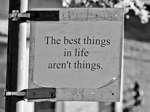 Best things quote