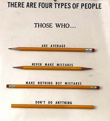 four types of people quote picture