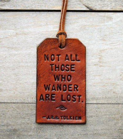 Lost wandering quotes
