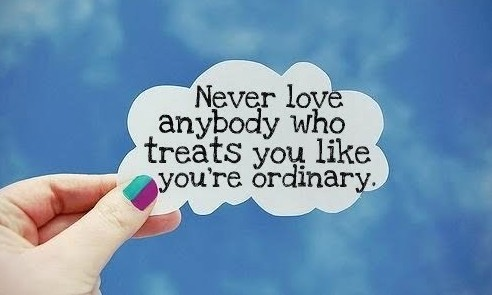 Never love anybody quote