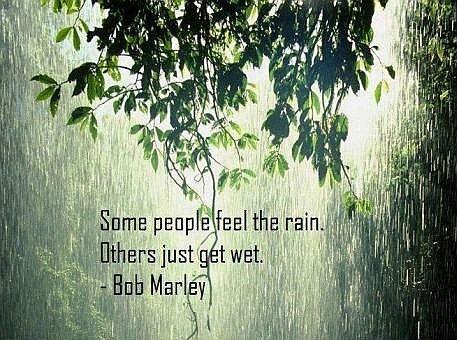 Rain quote bob marley