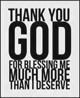 God Blessing Quote