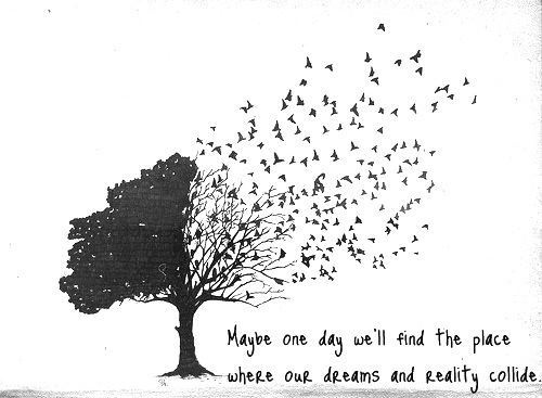 Tree birds dreams quote