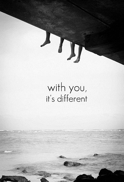 With you on open sea quote