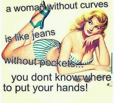 Woman Curves quote
