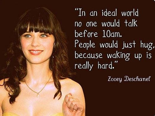 Zooey Deschanel Speaks The Truth quotes