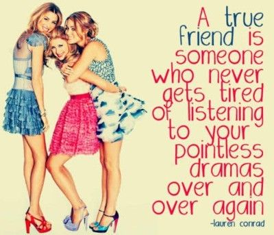 A True Friend Never Gets Tired