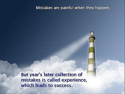 mistakes inspirational quotes clouds