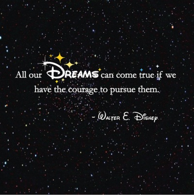 Walter Disney quote