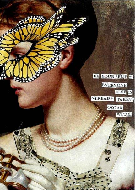 Be yourself Wilde Quote