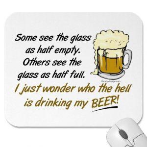 Glass: Half Empty Or Half Full?