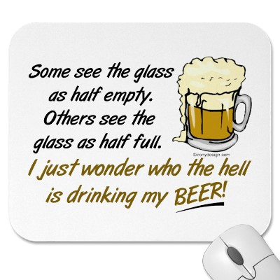 Glass: Half Empty Or Half Full?