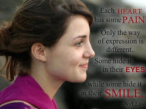 Girl smile quotes