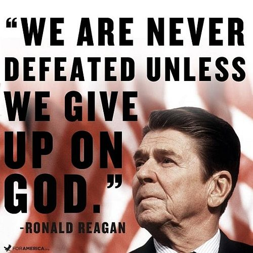 Newer defeated by ronald reagan