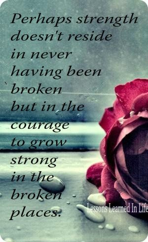 The Courage To Grow Strong