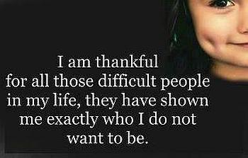 Thankful to all people quote