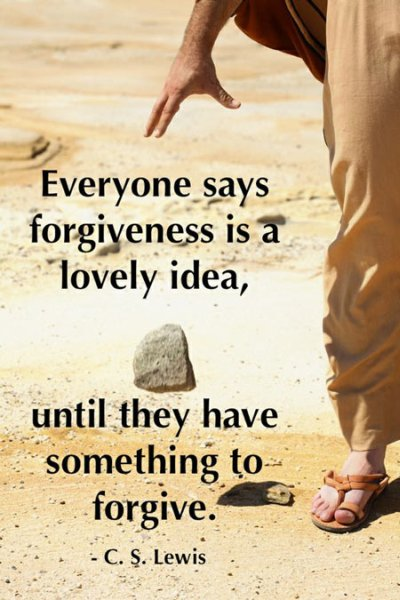 Forgiveness Is A Lovely Idea