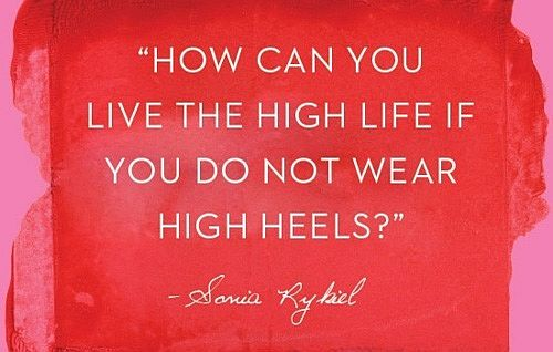 high-heels- fashion quotes