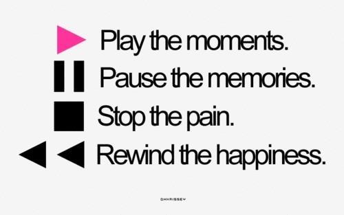 Play, Pause, Stop, Rewind