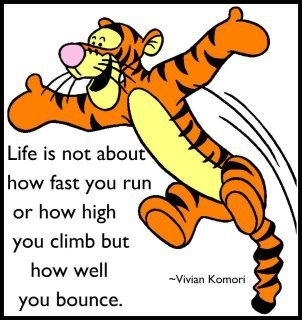 life bounce picture quote