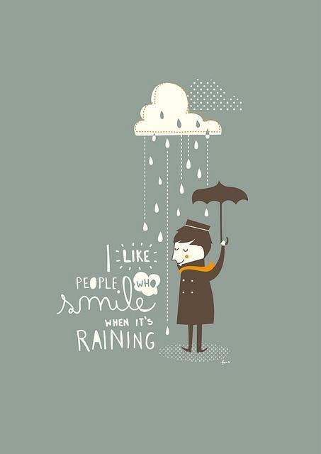raining smile quotes