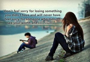 Don't Feel Sorry