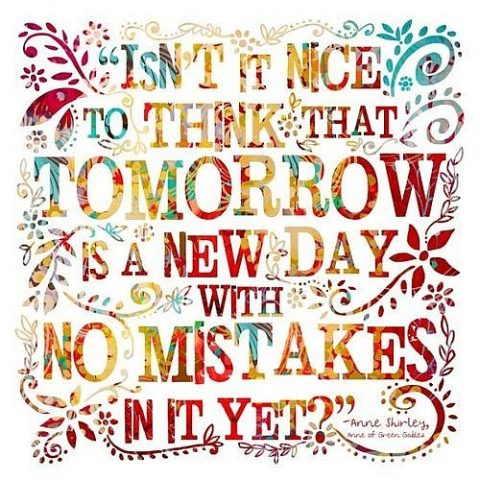 tomorow mistakes picture quotes