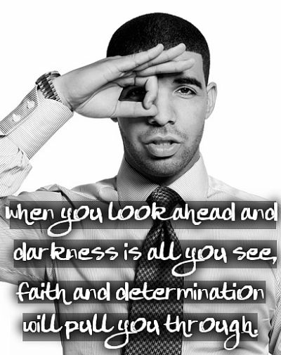 Darkness, Faith - Motivational Quote