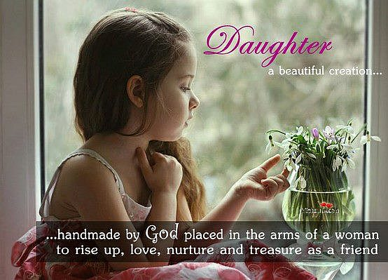 Daughter A Beautiful Creation