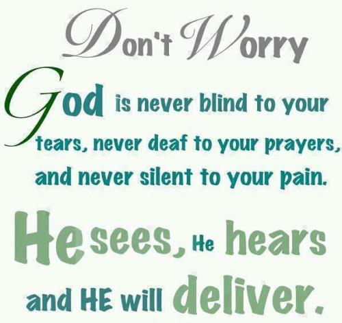 Dont Worry God Quotes