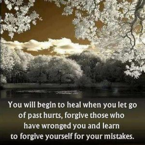 Learn To Forgive Yourself For Your Mistakes
