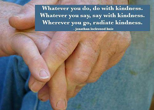 Kindness quote by jonathan lockwood huie