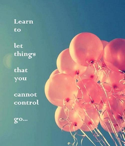 Learn To Let Things