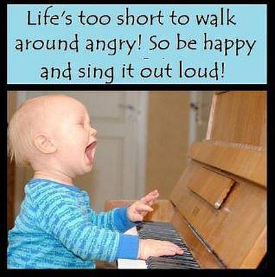 So Be Happy and Sing it Out Loud