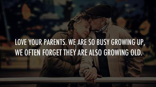 Never Forget About Parents