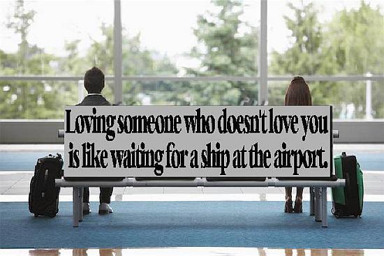 Loving someone who doesnt love you quote