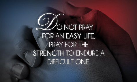 Pray For Strength - quote
