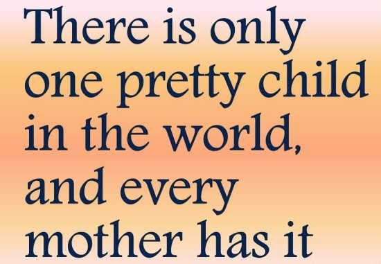 Pretty Child Quote