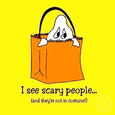 I See Scary People Quote Picture