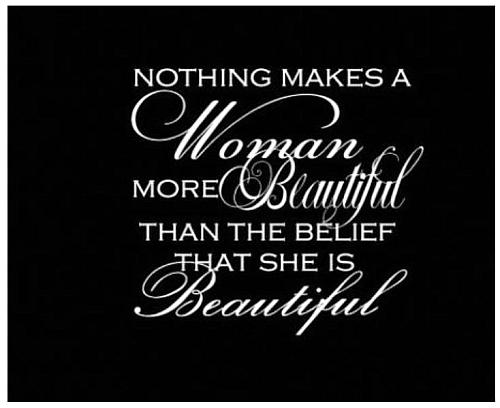 Beautifull - woman funny quote