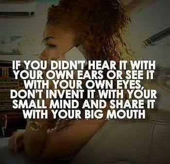 Ears mind mouth funny quote
