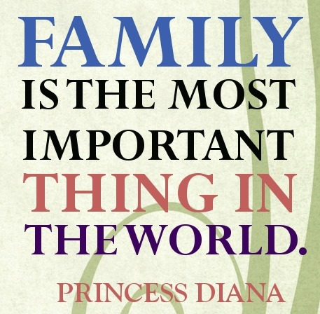 Family quote by Princes Diana