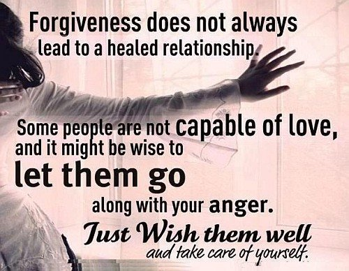 Forgiveness Doesn't Always Lead To A Healed Relationship