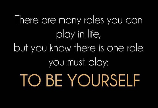Roles in the life quote