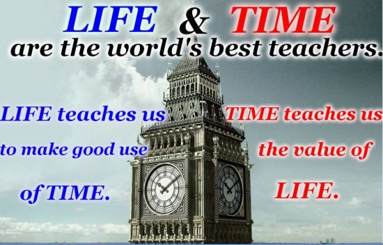 Life and Time Bigben Quote