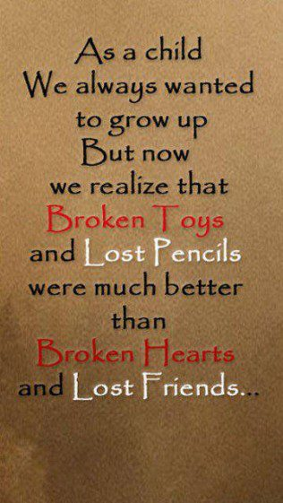 Lost friends quote