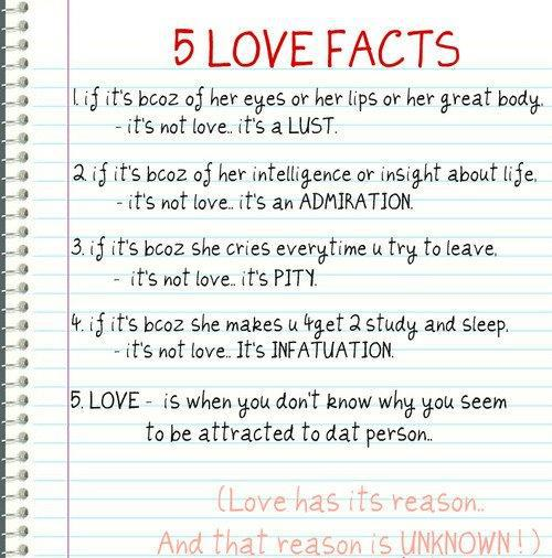 5 Love Facts