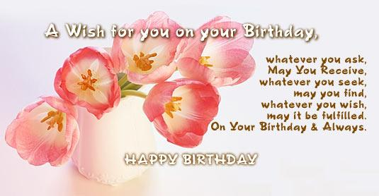 On Your Birthday Quote
