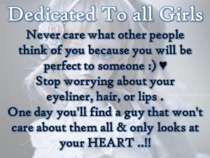 To All Girls