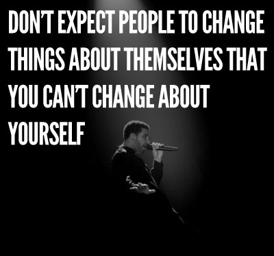 Don't Expect Changes